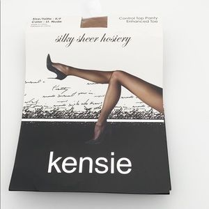 🍭6/$30 NWT Kensie silky sheer hosiery - nude E/F